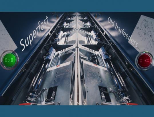 Automatický podavač tyčí Boss 338 HD Superfast 5