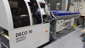 Automatický podavač tyčí Elite 220 Superfast Instalace