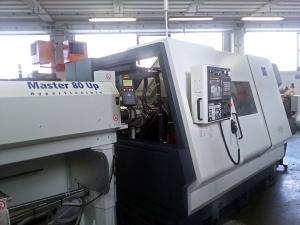 Automatický podavač tyčí Master 80 HF Instalace 2